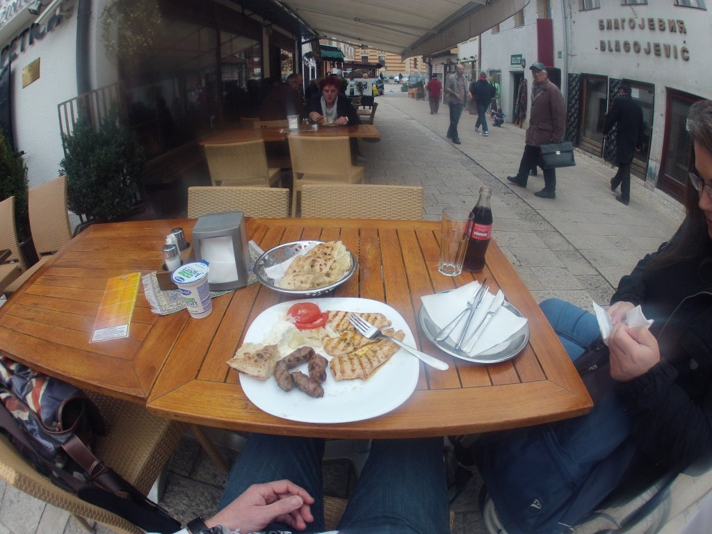 Lunch in Sarajevo
